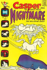 Cover Thumbnail for Casper & Nightmare (Harvey, 1964 series) #14