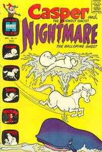 Cover Thumbnail for Casper & Nightmare (Harvey, 1964 series) #14