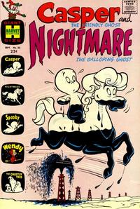 Cover Thumbnail for Casper & Nightmare (Harvey, 1964 series) #25