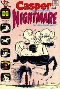 Cover Thumbnail for Casper & Nightmare (Harvey, 1964 series) #25