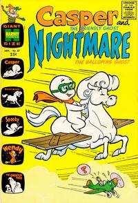 Cover for Casper & Nightmare (Harvey, 1964 series) #27