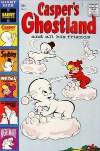 Cover Thumbnail for Casper's Ghostland (Harvey, 1959 series) #2