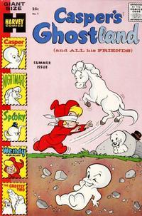 Cover Thumbnail for Casper's Ghostland (Harvey, 1959 series) #3