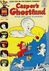 Cover Thumbnail for Casper's Ghostland (Harvey, 1959 series) #4