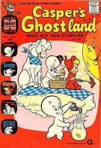 Cover Thumbnail for Casper's Ghostland (Harvey, 1959 series) #6