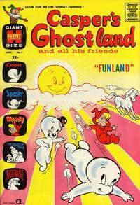 Cover Thumbnail for Casper's Ghostland (Harvey, 1959 series) #9