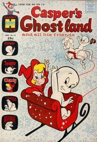 Cover Thumbnail for Casper's Ghostland (Harvey, 1959 series) #13