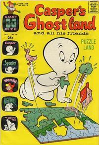 Cover Thumbnail for Casper's Ghostland (Harvey, 1959 series) #19