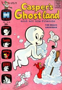 Cover Thumbnail for Casper's Ghostland (Harvey, 1959 series) #20