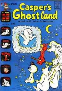 Cover Thumbnail for Casper's Ghostland (Harvey, 1959 series) #24