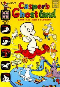 Cover for Casper's Ghostland (Harvey, 1959 series) #25
