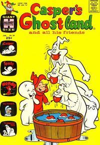 Cover Thumbnail for Casper's Ghostland (Harvey, 1959 series) #28