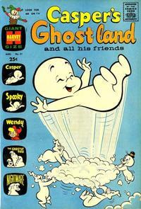 Cover Thumbnail for Casper's Ghostland (Harvey, 1959 series) #31