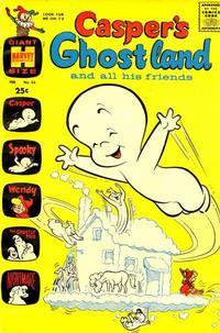 Cover Thumbnail for Casper's Ghostland (Harvey, 1959 series) #34