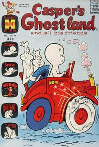 Cover Thumbnail for Casper's Ghostland (Harvey, 1959 series) #39