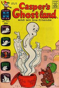 Cover Thumbnail for Casper's Ghostland (Harvey, 1959 series) #41