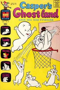 Cover Thumbnail for Casper's Ghostland (Harvey, 1959 series) #43