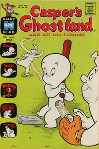 Cover Thumbnail for Casper's Ghostland (Harvey, 1959 series) #45
