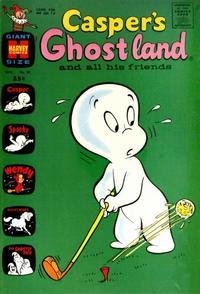 Cover Thumbnail for Casper's Ghostland (Harvey, 1959 series) #50