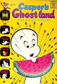 Cover Thumbnail for Casper's Ghostland (Harvey, 1959 series) #58