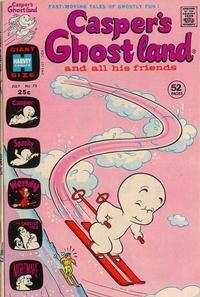 Cover Thumbnail for Casper's Ghostland (Harvey, 1959 series) #73