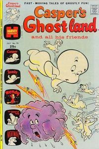 Cover Thumbnail for Casper's Ghostland (Harvey, 1959 series) #79