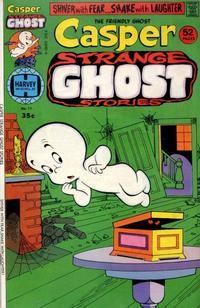 Cover for Casper Strange Ghost Stories (Harvey, 1974 series) #11