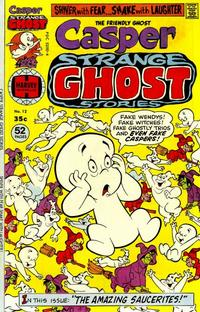 Cover Thumbnail for Casper Strange Ghost Stories (Harvey, 1974 series) #12