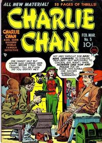 Cover Thumbnail for Charlie Chan (Prize, 1948 series) #v1#5