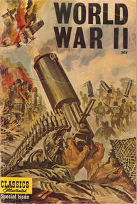 Cover Thumbnail for Classics Illustrated Special Issue (Gilberton, 1955 series) #166A - World War II