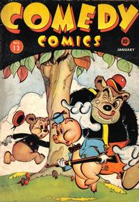 Cover Thumbnail for Comedy Comics (Marvel, 1942 series) #13