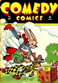Cover Thumbnail for Comedy Comics (Marvel, 1942 series) #16