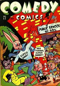 Cover Thumbnail for Comedy Comics (Marvel, 1942 series) #17