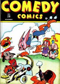 Cover Thumbnail for Comedy Comics (Marvel, 1942 series) #20