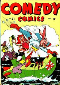 Cover Thumbnail for Comedy Comics (Marvel, 1942 series) #21