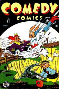 Cover Thumbnail for Comedy Comics (Marvel, 1942 series) #22