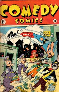 Cover Thumbnail for Comedy Comics (Marvel, 1942 series) #23