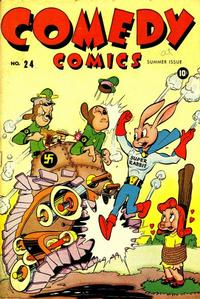 Cover Thumbnail for Comedy Comics (Marvel, 1942 series) #24