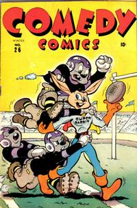 Cover Thumbnail for Comedy Comics (Marvel, 1942 series) #26