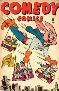 Cover Thumbnail for Comedy Comics (Marvel, 1942 series) #28