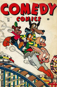 Cover Thumbnail for Comedy Comics (Marvel, 1942 series) #30