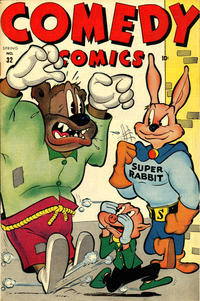 Cover Thumbnail for Comedy Comics (Marvel, 1942 series) #32