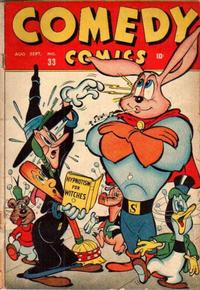 Cover Thumbnail for Comedy Comics (Marvel, 1942 series) #33