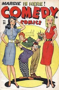 Cover Thumbnail for Comedy Comics (Marvel, 1942 series) #34