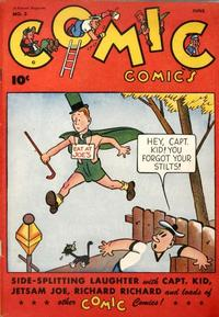 Cover for Comic Comics (Fawcett, 1946 series) #3