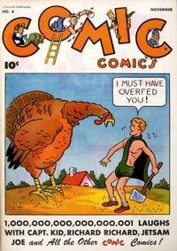 Cover Thumbnail for Comic Comics (Fawcett, 1946 series) #8