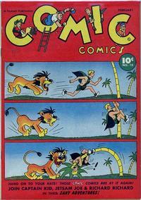 Cover Thumbnail for Comic Comics (Fawcett, 1946 series) #10