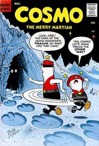 Cover Thumbnail for Cosmo the Merry Martian (Archie, 1958 series) #2