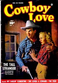 Cover Thumbnail for Cowboy Love (Fawcett, 1949 series) #1