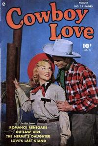 Cover Thumbnail for Cowboy Love (Fawcett, 1949 series) #2